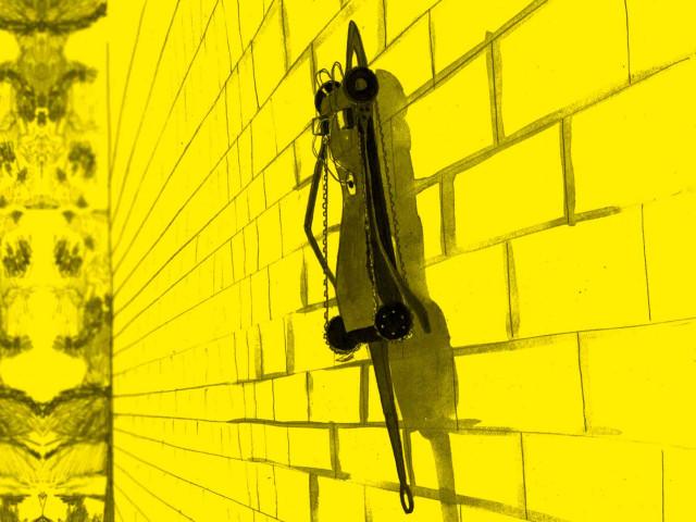 Elektrostatisk väggklättring